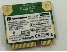 SSEA Atacado Original Novo AzureWave RTL8191SE Metade Mini PCI-E PLACA Wireless 300 Mbps Frete grátis