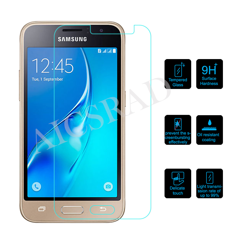 Screen Protector for Samsung Galaxy J1 2016 J120F Tempered Glass for Samsung Galaxy J1 2016 Protective Film Front Cover