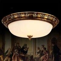 Американский Винтаж потолочный светильник Luminarias светодиодный потолочный светильник Гостиная Люстры потолок Спальня заподлицо потолочный