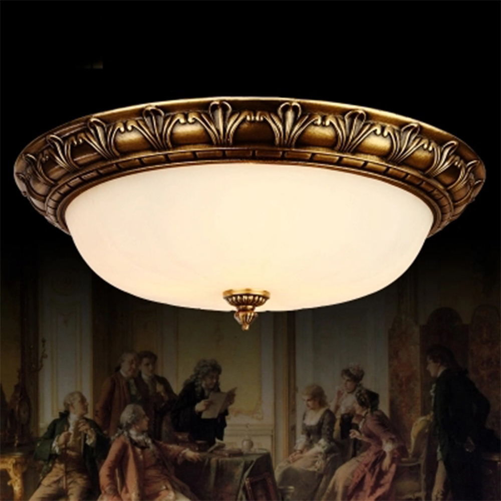 American Vintage Ceiling Lamp Luminarias Led Ceiling Light