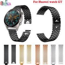 Ремешок из нержавеющей стали для смарт часов huawei watch gt