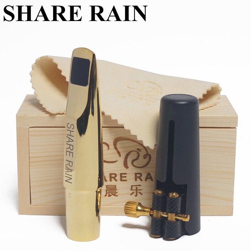 Partager la pluie réparation à la main ténor saxophone métal embout la copie rovner/ténor saxophone embout