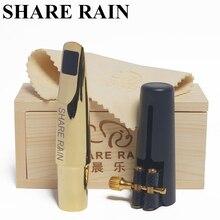 Payı yağmur el yapımı tamir Bb tenor saksafon metal ağızlık kopya rovner / tenor sax ağızlık