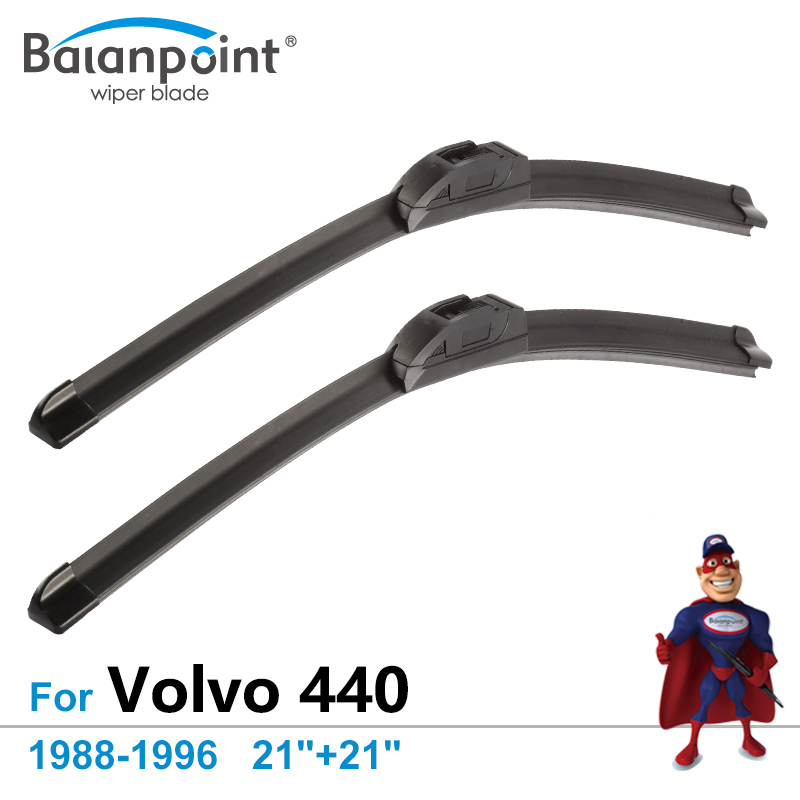 """Pantalla Frontal Del Limpiaparabrisas Para Volvo 440, 1988-1996 21 """"+ 21"""" Juego De 2 Piezas, Limpiaparabrisas De Limpieza Superior"""