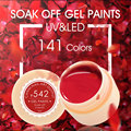 CANNI Nail Gel Painting Gel 141 Colors Soak off UV LED Gel Nail Polish