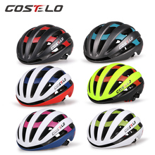 2017  Costelo Light Cycling Helmet Bike Ultralight helmet costelo casco  Mtb Road Bicycle Helmet 54-58cm  free shipping