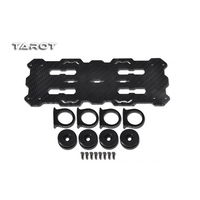 Multi Rotor Helicopter Part Tarot 3K Carbon Hanging Dual Battery Mount Set TL96018