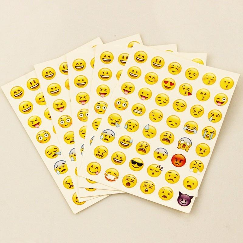 Etiqueta engomada de 10 PC 480 etiquetas clásicas de la cara de la - Juguetes clásicos - foto 1