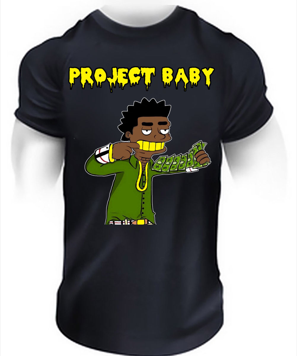 Black t shirt gang - Project Baby Kodak Black T Shirt Hip Hop Sniper Gang Rap Music Trap Tee Top In T Shirts From Men S Clothing Accessories On Aliexpress Com Alibaba Group