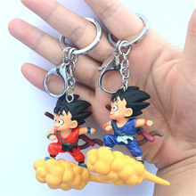 Hot New Japan Anime Dragon Ball Son Goku Cosplay Chaveiro Crachá Cambalhota Nuvem PVC Figura de Brinquedo de Presente Extravagante(China)
