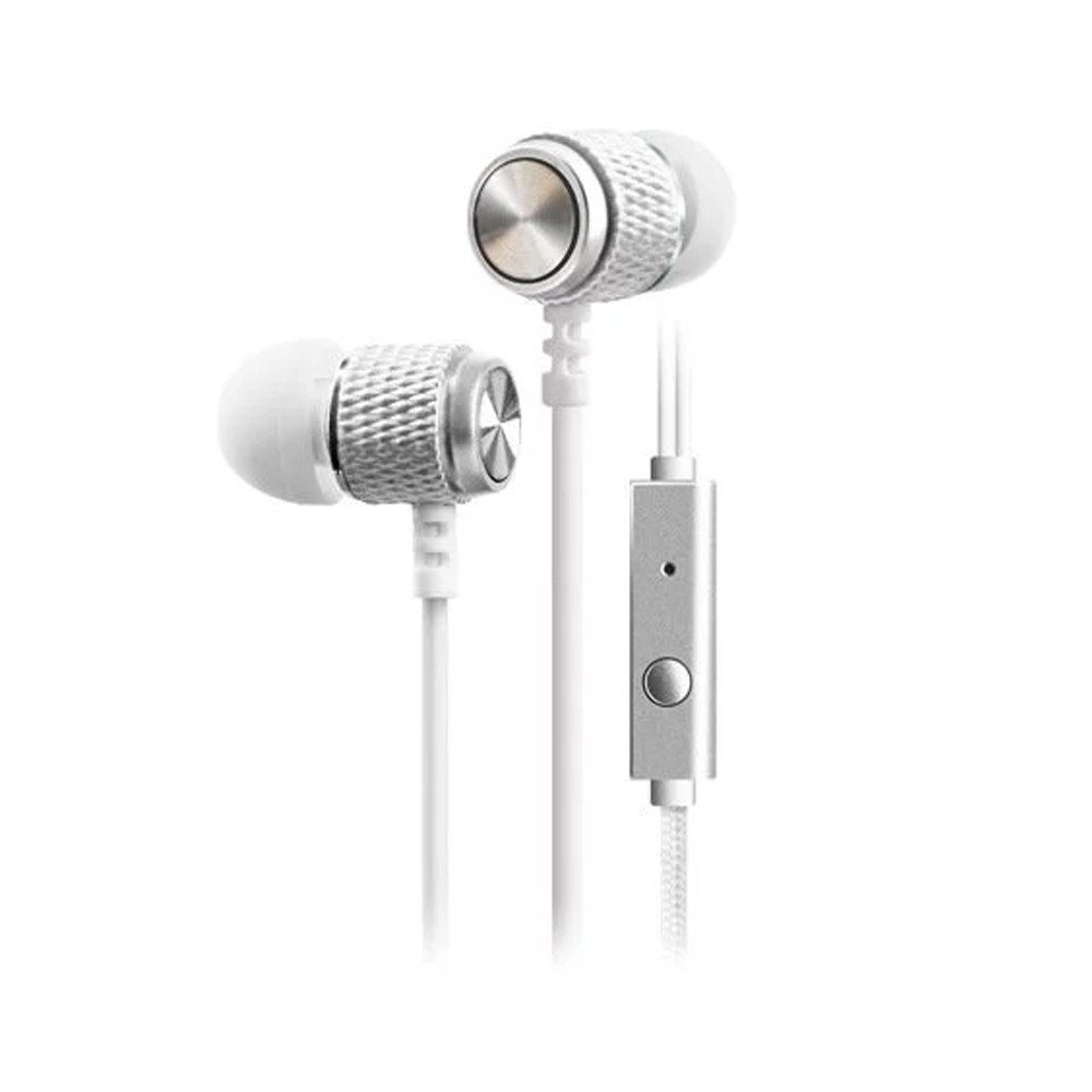 High Quality In-ear Earphone Hifi Stereo Earbuds 3.5mm Plug Earbuds Wired with Microphone Earphones for Smartphones MP3 Players