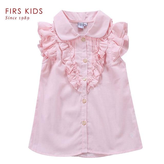 Новинка 2016! Рубашка из 100% хлопка, девчачья T-рубашка летняя,  футболки для девочек,  детская тройная футболка, одежда
