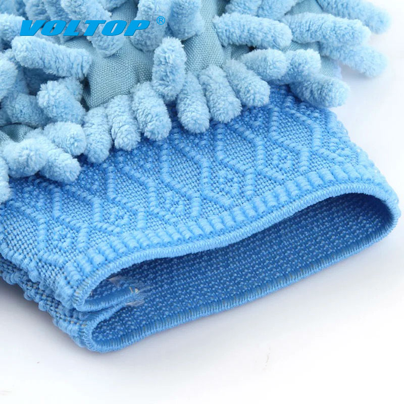 Image 4 - 2pcs Car Cleaning Gloves Auto Washing Towel Microfiber Wash Brush Clean Duster Vehicle Home Office Sponges Coral Cloth Care Tool-in Sponges, Cloths & Brushes from Automobiles & Motorcycles