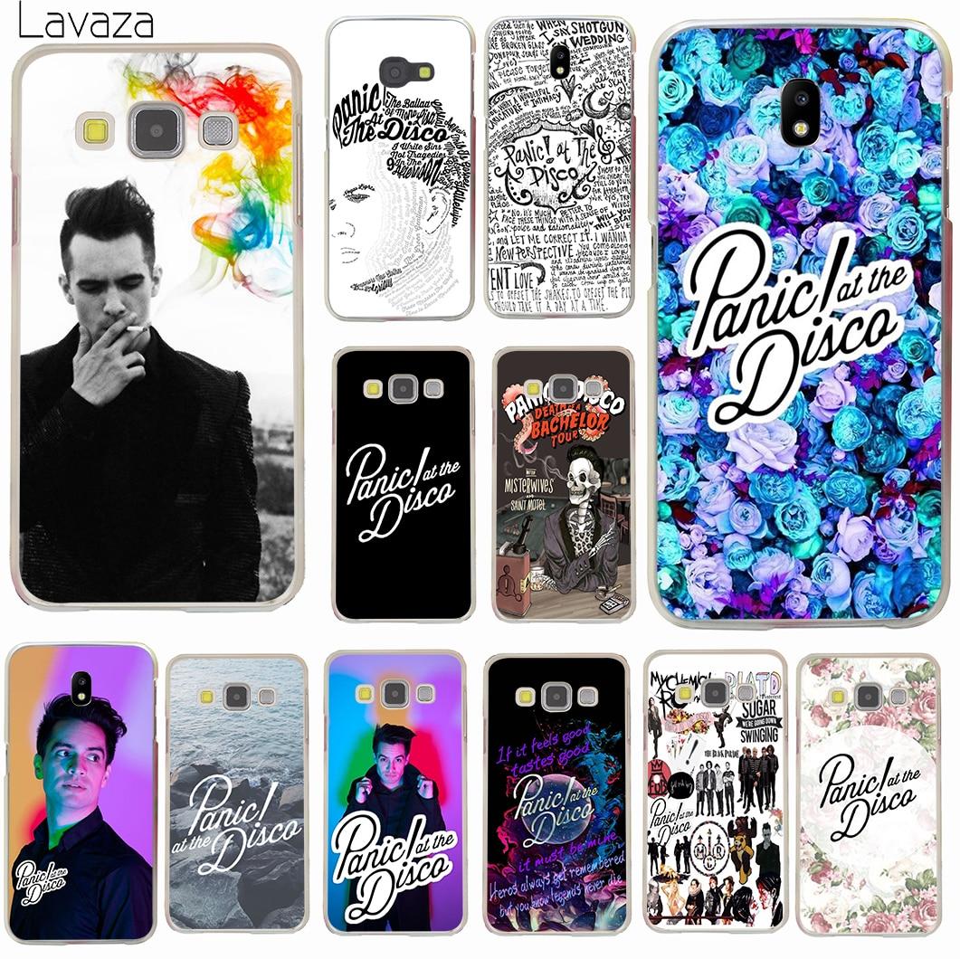 Lavaza Panic At The Disco Hard for Samsung Galaxy J2 Pro 2018 J1 J2 J3 J5 J7 2015 2016 2017 US EU Version Prime