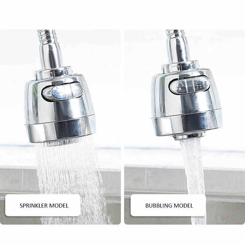 Пластиковые роторные перфорированный фильтр Водосберегающие защита от брызг на кране душ alve фильтрующие устройства два типа выходных кухонных аксессуаров