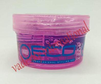 Eco styler Curl & Wave styling gel pink 235ml alumi curl cap pink