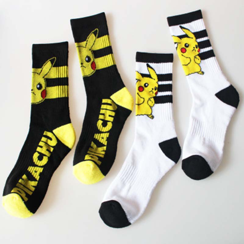 font-b-pokemon-b-font-socks-long-and-short-cosplay-socks-women-men-cartoon-super-marie-pikachu-poke-ball-font-b-pokemon-b-font-sweat-absorbent-breathable