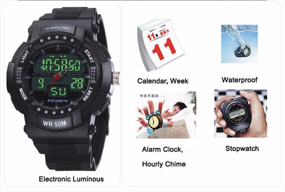 361 - detail - 2018 Free Shipping Fashion Men Watch Waterproof Sport Men Wristwatch S Quartz Digital Boy Clock Relogio Masculino (11)