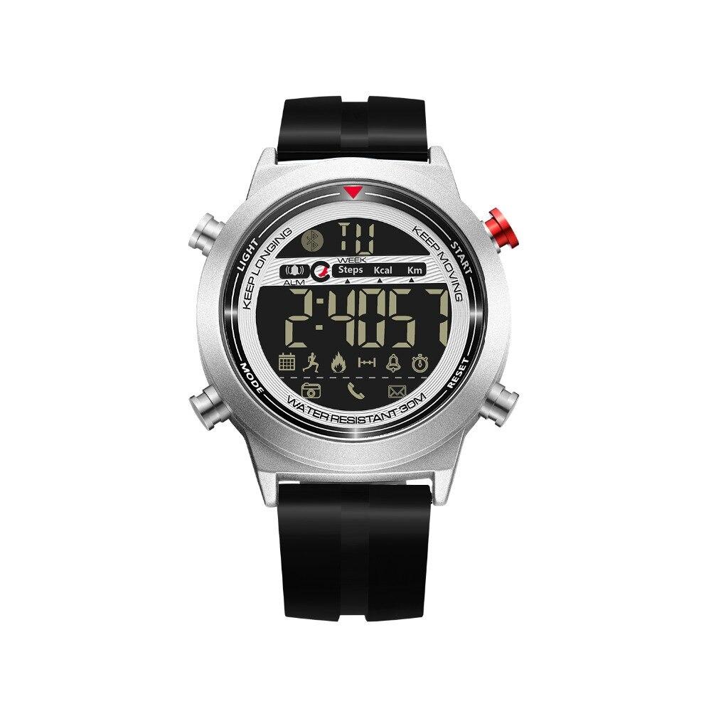 JeiSo NEW Smart Watch Men Bluetooth Pedometer Stopwatch Waterproof Digital Electronics Sport Smartwatch Relogio Masculino