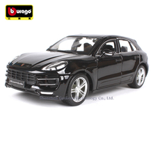 Bburago 1:24 Porsche Macan manufacturer authorized simulation alloy car model crafts decoration collection toy tools накладки на замки пластиковые для porsche macan 2013