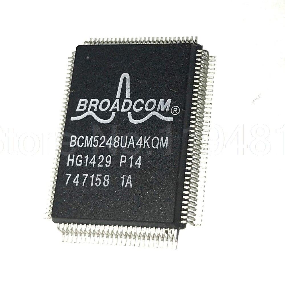 BCM5248 QFP128 5248 PHY 1 CH 8 Port 128 Pin PQFP BCM5248UA4KQMG