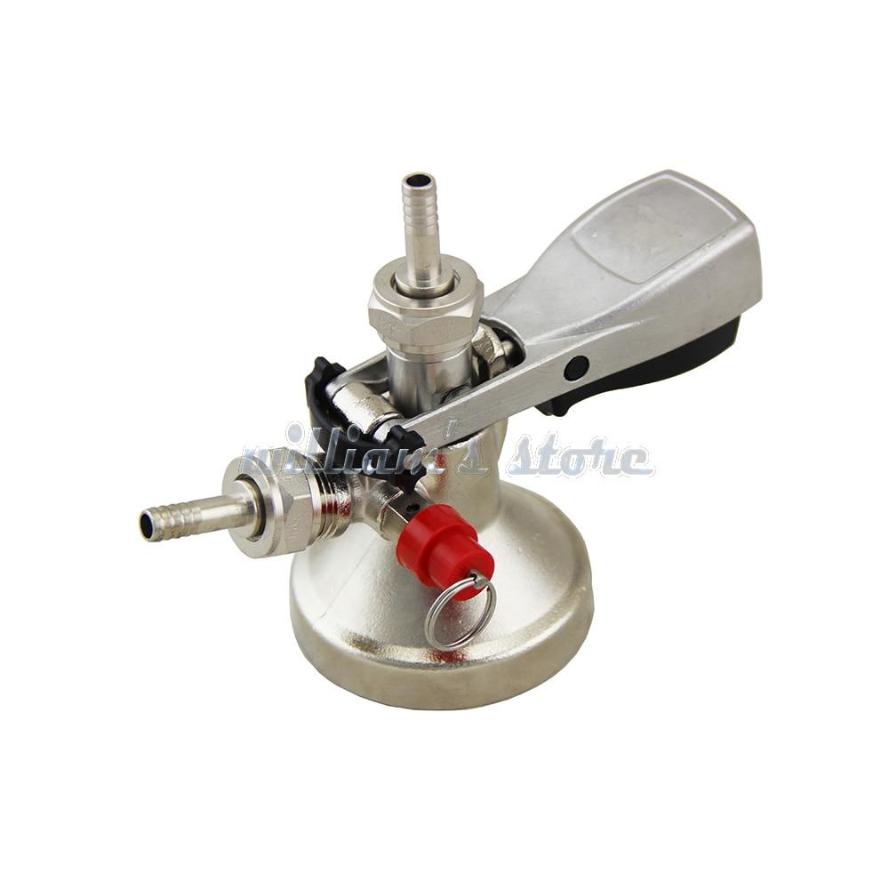 Keg Coupler Beer Dispenser G Type Beer Keg Tap Beer Faucet System \