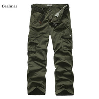Fashion Men Cargo Pants Army Green Tooling Military Pants Pantalon Homme Casual Trousers Tactical Pants Pantalon Homme Cotton