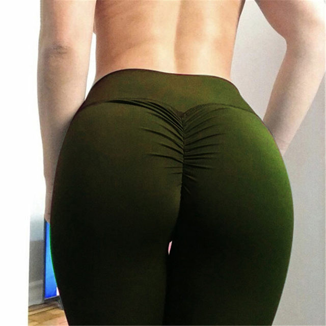 Gym leggings Sport Women Fitness Yoga pants High Waist Workout Leggins Scrunch Butt Lift sports wear Hips up trousers
