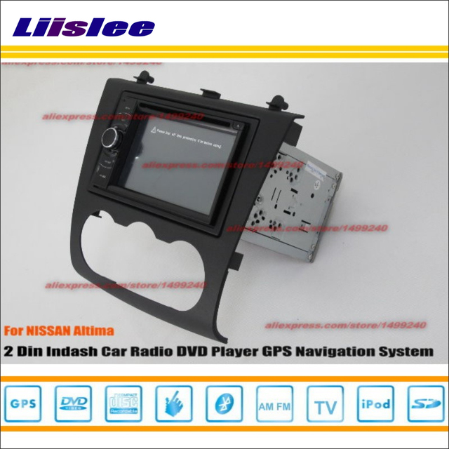 Liislee For Nissan Altima 2007 2017 Car Radio Stereo Dvd Player Gps Navi Hd Touch