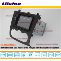 Liislee For Nissan Altima 2007~2012 Car Radio Stereo DVD Player GPS NAVI HD Touch Screen Audio Video S100 Nav Navigation System