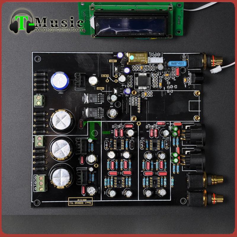 Prix pour TOP Audio DAC ES9018 ES9028 ES9028PRO DAC Décodeur conseil Soutien XMOS/Amanero I2S USB Entrée/Sortie XLR SYMÉTRIQUE