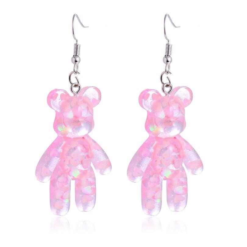 gummy bear stud earrings