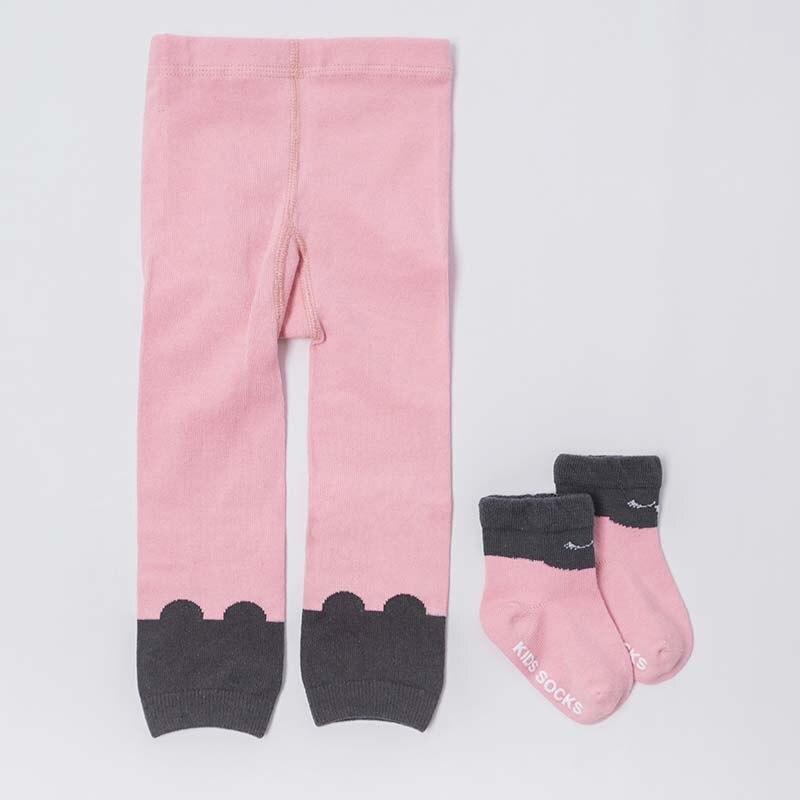 Autumn Warm Leggings Newborn Baby Clothes Girl Cotton Fashion Print Cartoon Skinny Long Leggings Toddler Cute Warm
