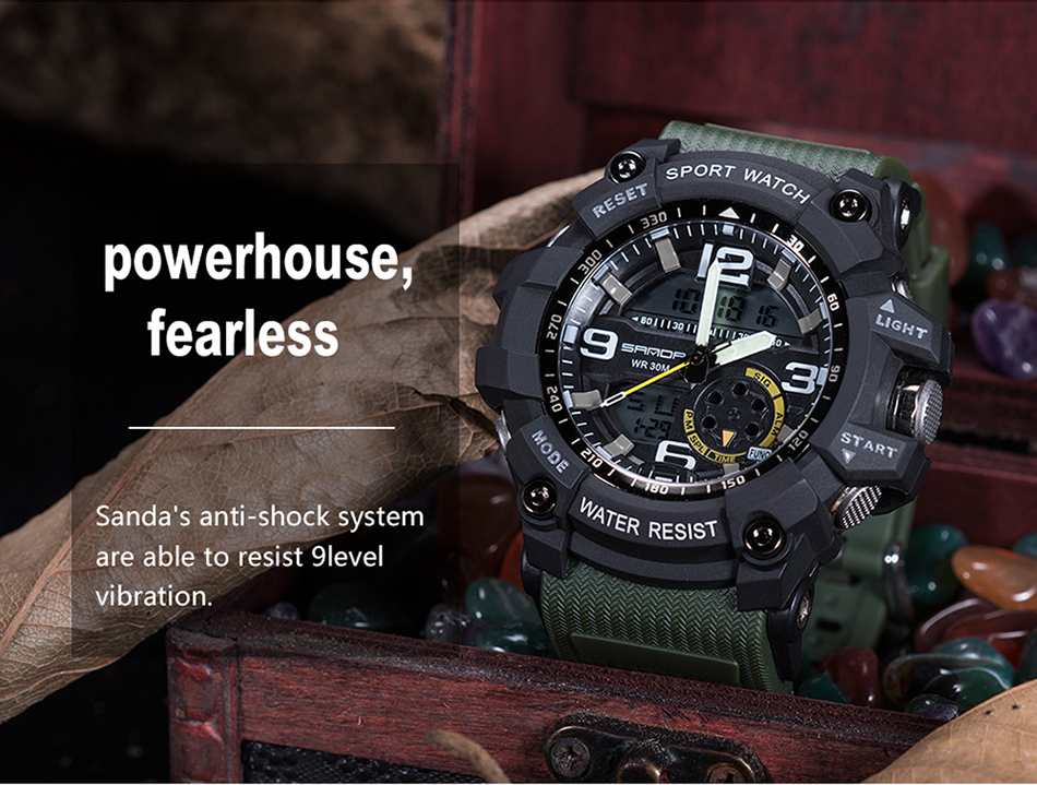 HTB1VXjGg77mBKNjSZFyq6zydFXam SANDA 759 Sports Men's Watches Top Brand Luxury Military Quartz Watch Men Waterproof S Shock Wristwatches relogio masculino 2019