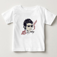 Kids 3D Printing T shirt singer Bob Dylan T-shirt boy/girl Short Sleeve O-neck Tees summer tops Tshirts baby tee 3T-8T  NN
