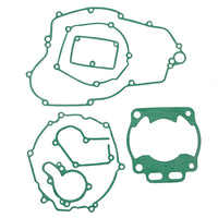 Hight Quality For KAWASAKI KX250 KX 250 2005 2006 2007 Motorbike Cylinder Gasket Crankcase Covers Kit