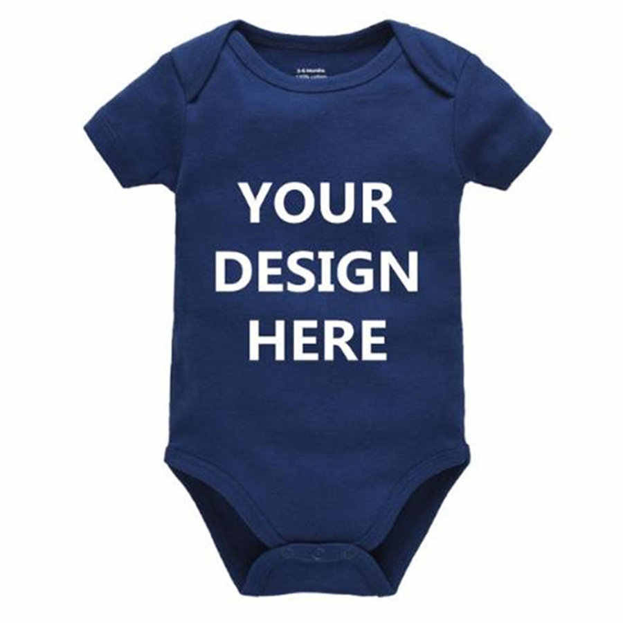 Kavkas пользовательские детские ножки, однотонные, белые, черные, унисекс, для новорожденных, комбинезон, комбинезоны с буквенным принтом, одежда для малышей