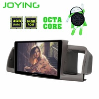 JOYING 2 din Android 8.0 car radio player gps for Toyota Corolla EX/E120 2003 2011 9 inch 1024*600 screen support video out TPMS