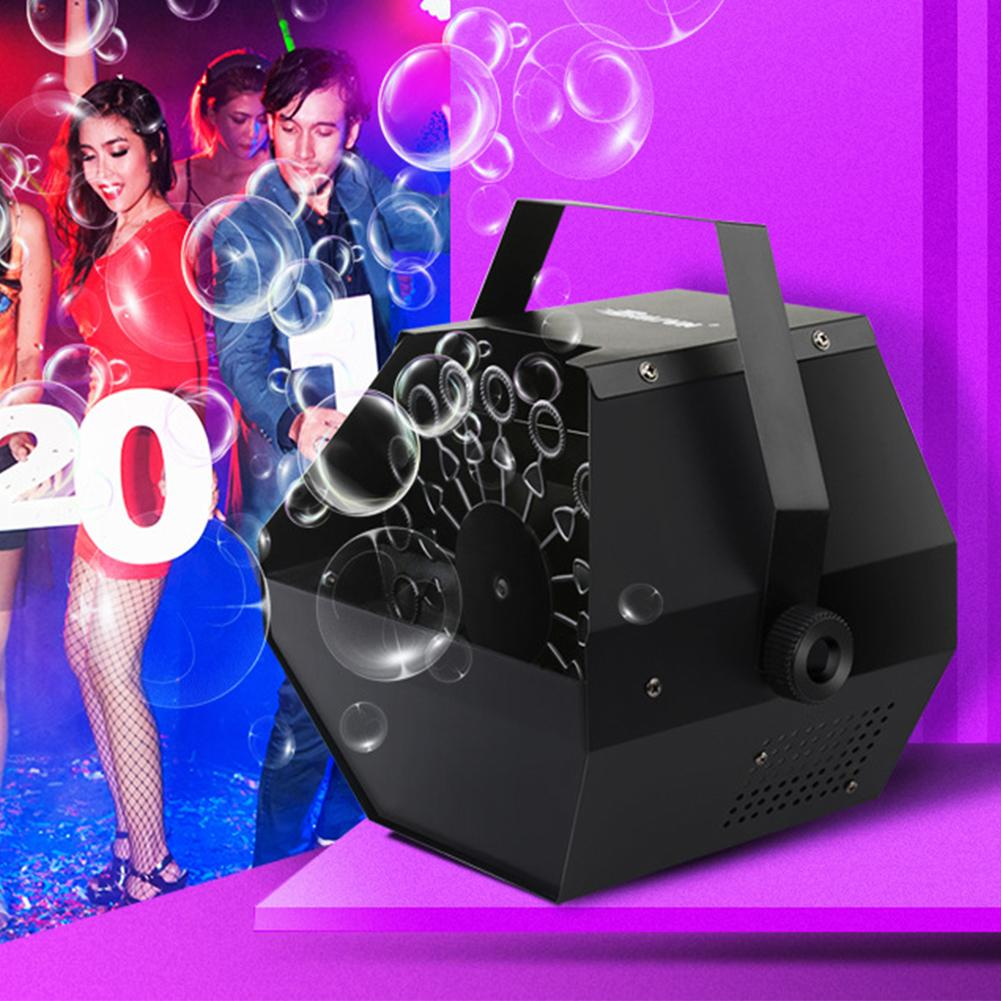 LED automatique soufflant fabricant de bulles en plein air scène intérieure Banquet de mariage approvisionnement chaud