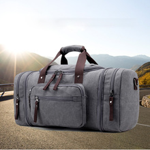 Men Travel Sports Bag Large Capacity Male Carry on Hand Luggage Canvas Duffle Bags Tote Weekend Gym