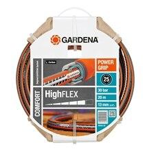 Шланг поливочный GARDENA 18063-20.000.00 (Длина 20 м, диаметр 13мм (1/2), максимальное давление 30 бар, армированный, светонепроницаем, устойчив к ультрафиолетовому излучению)