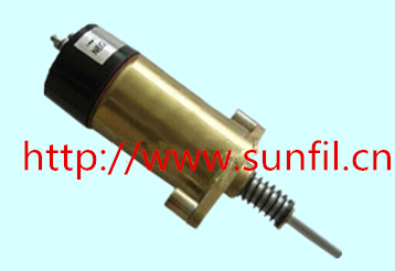 Wholesale FUEL SHUTDOWN STOP SOLENOID VALVE 125-5774, VOLT 24V fuel shutdown solenoid valve 332 j5060 its for jcb excavator 24v stop solenoid