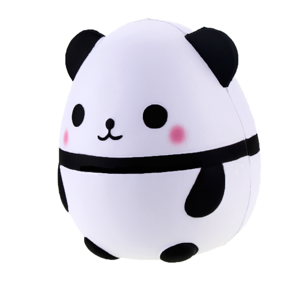 Jumbo Panda Egg Squishy Slow Rising Cute Kawaii Squishies 16CM Retail 1pcs Animals Stress Relief Toys Package Kids Gifts Promote