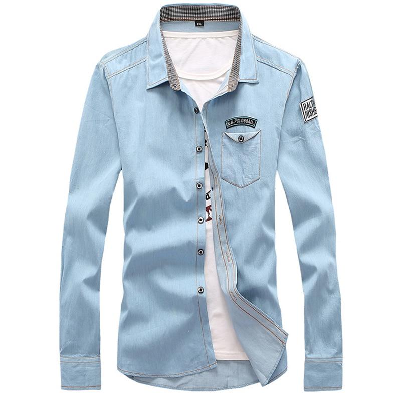 Brand Clothing 2016 New Vintage Men\'s Fashion Deni...