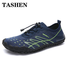 2019 Water Shoes Men Summer Beach Shoes Breathable Upstream Aqua Shoes Quick Dry Woman Wading Sandals Diving Swimming Socks цена