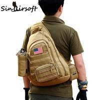 SINAIRSOFT Outdoor Sports Bag Military Camping Hiking Bag Tactical Backpack Utility Camping Travel Hiking Trekking Bag LY0034