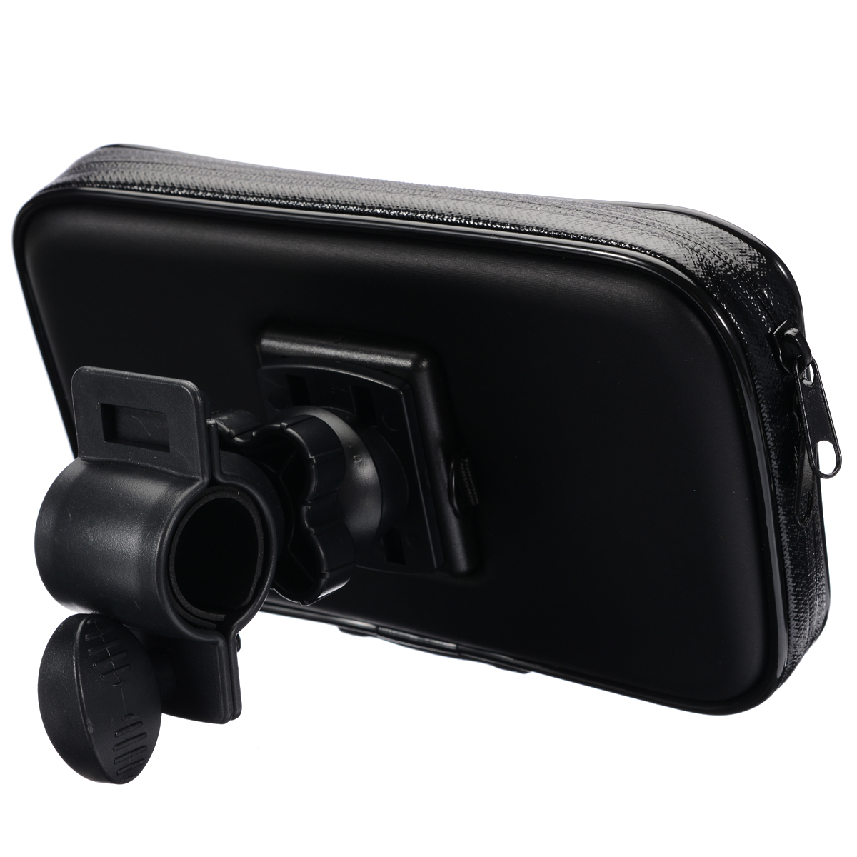 "Image 4 - 1PC Motorcycle Bike Bicycle Waterproof Phone GPS Case Bag Handlebar Mount Holder 15 x 8.5 x 2.5cm For Mobile Phones Without 5.5""-in GPS Stand from Automobiles & Motorcycles"