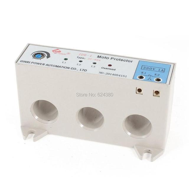 JDB 1 3 Phase 32 80 Ampere Einstellbare Strom Motor Schaltung Schutz ...