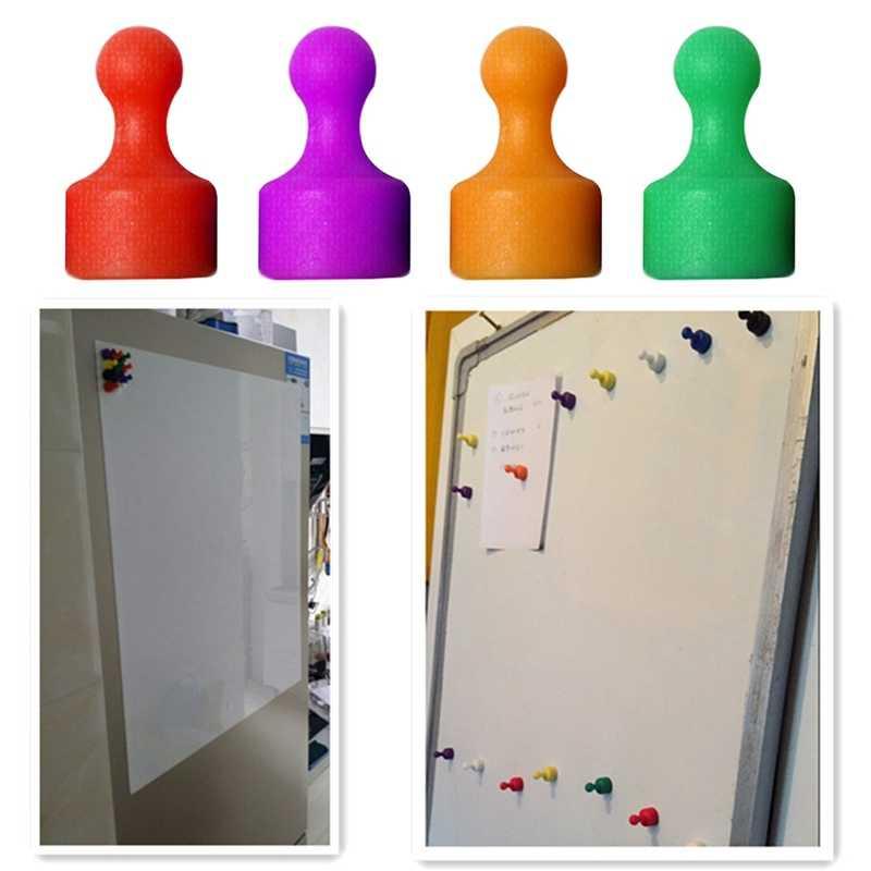 נעצים Neodymium סיכות מקרר מגנטים הוראת ציור חזק מגנטים למקרר תזכיר מגנט לדחוף סיכה Skittle לוח מודעות
