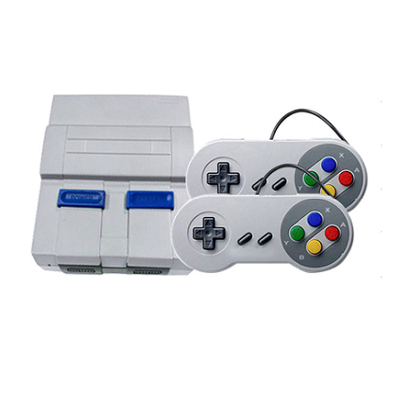 Video Retro Games Console 8 Bit SNES Classic Gamepad Retro Game AV HD Out TV Handheld Game Player Built-In 400 Games